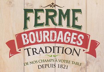 Ferme Bourdages / Fraises, maïs, confitures, vins, pâtés...